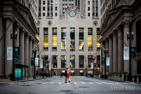 Chicago Board of Trade Engagement Photos : Christine and ...