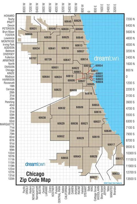 Chicago Zip Code Map | Locate Chicago Neighborhoods & Zip ...