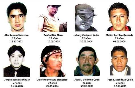 Chile, 2014: Mapuche invisibilizados en el discurso de ...