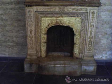 chimenea antigua inglesa hierro y marmol p - Comprar ...