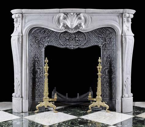 Chimeneas de mármol blanco Luis XV antigua | casa ...