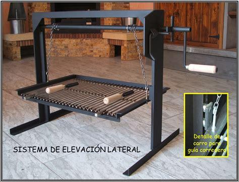 CHIMENEAS SIERRA - Sistema de cadenas para barbacoa de obra