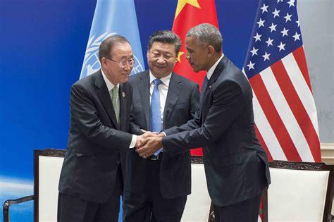 China y Estados Unidos ratifican el Acuerdo de París ...