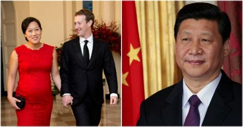 Chinese President Xi Jinping Snubs Facebook's Mark ...