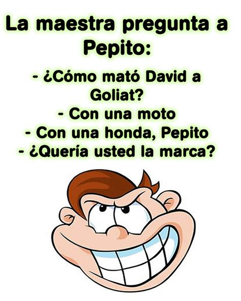 CHISTES DE PEPITO ® Chistes gracisosos de Pepito cortos