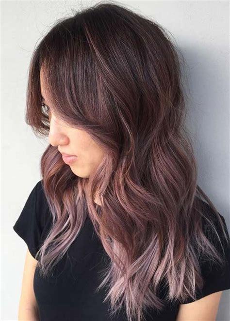 Chocolate Mauve Hair Color Ideas | Hair Hunni | Pinterest ...