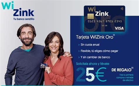 Chollo! 25€ GRATIS gracias a la tarjeta gratuita de WiZink