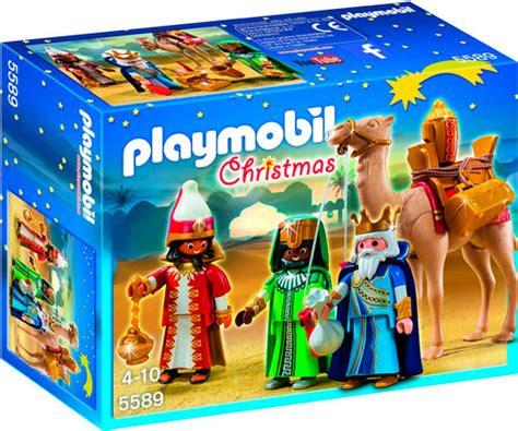 ¡Chollo! Reyes Magos de Playmobil Navidad 5589 barato 14 ...