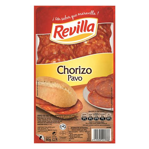 Chorizo de pavo Revilla - Carrefour supermercado compra online