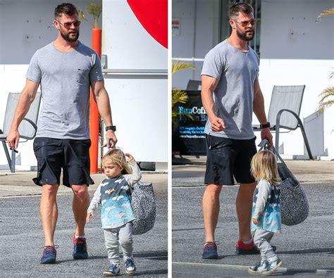 Chris and Luke Hemsworth babysit the twins | Woman s Day