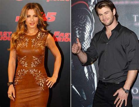 Chris Hemsworth y Elsa Pataky son marido y mujer y también ...