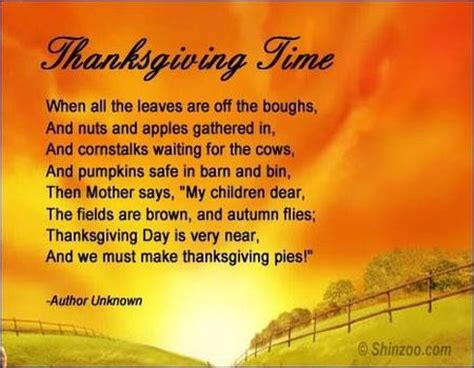 Christian Thanksgiving Poems | Great Images Gallery ...