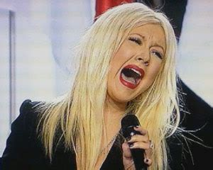 Christina Aguilera Messed Up Singing The National Anthem ...