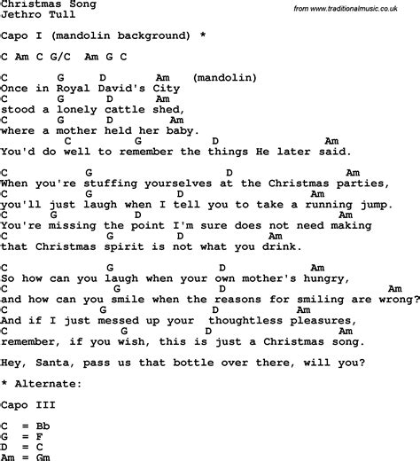 Christmas Song Guitar Chords | fishwolfeboro