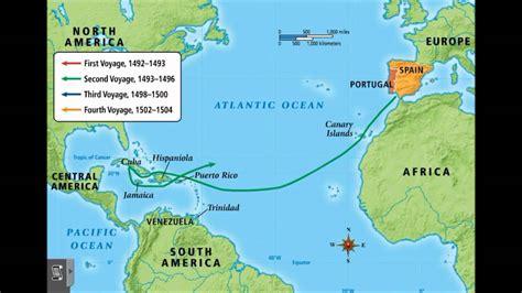 Christopher Columbus Exploration: 1492-1504 - YouTube