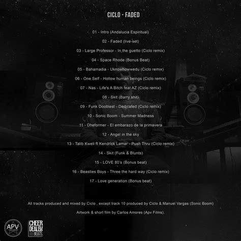 Ciclo - Faded » Álbum Hip Hop Groups