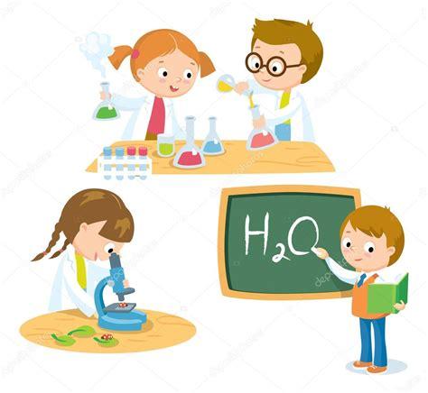 ciencia para ilustración de los niños — Archivo Imágenes ...
