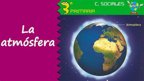 Ciencias Sociales. 3º Primaria. Tema 7. La atmósfera - YouTube