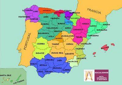 Ciencias Sociales.: La organización territorial de España.