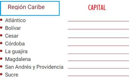 Ciencias Sociales: Practico los departamentos y capitales ...