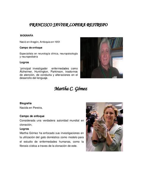 Científicos colombianos 12