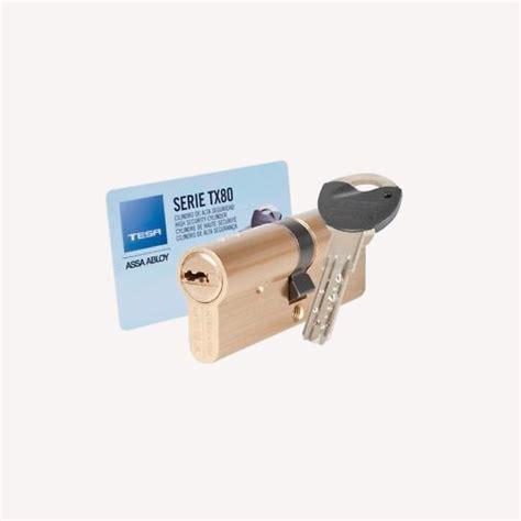 Cilindro TESA de seguridad TX80