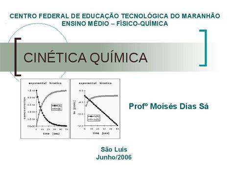 Cinética Química   Principais tópicos da Cinética Química