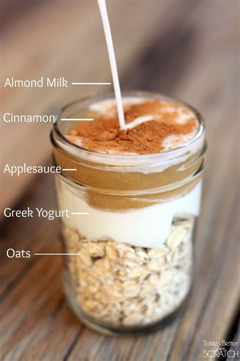 Cinnamon Apple Overnight Oats | Receta | Chia | Pinterest ...