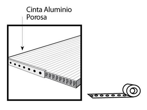 Cinta de Aluminio para Ventana de Policarbonato Celular ...