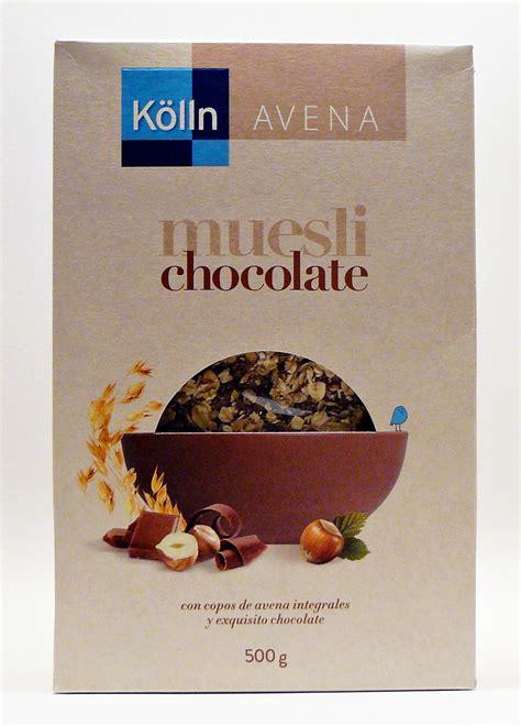 Cioccolato Muesli Kölln 500 grammi Avena. - In tastu Food.