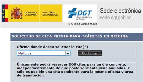 Cita Previa DGT Mallorca • Cita Tráfico  DGT  【2018】