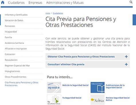Cita previa en la Seguridad Social【 Internet y telefono 】INSS