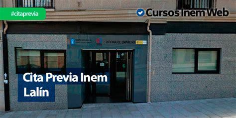 Cita Previa INEM Lalín | Cursosinemweb.es