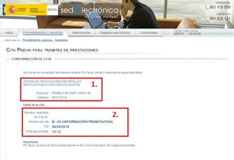 Cita previa inem por Internet | Cursosinemweb.es