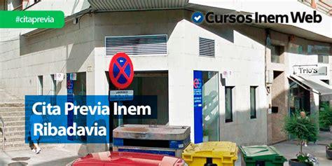 Cita Previa INEM Ribadavia | Cursosinemweb.es
