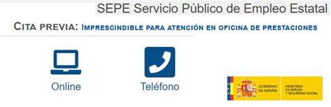 Cita Previa SEPE por Internet y Teléfono | SEPE ...
