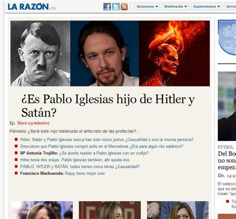 Citador on Twitter:  ¿Es Pablo Iglesias hijo de Hitler y ...