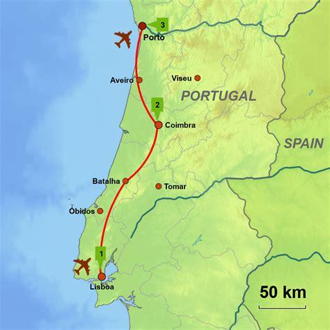 Cities of Portugal | Lisboa - Coimbra - Porto | Caminos ...