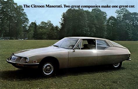 Citroën USA 1971 SM brochure