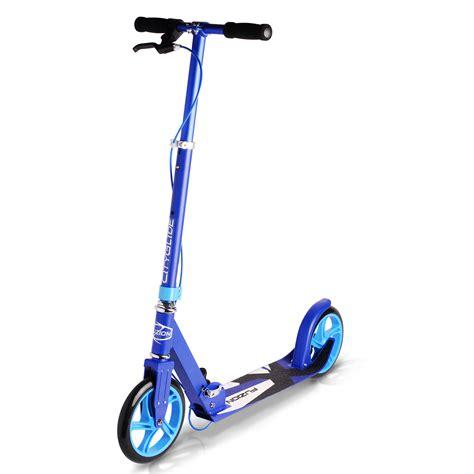 City Glide Adult Kick Scooter w/ Handbrake   Fuzion Scooters