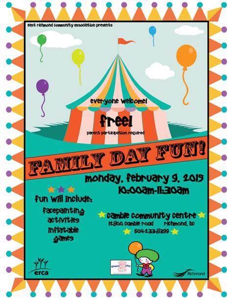 City of Richmond BC   Family Day Fun 2015