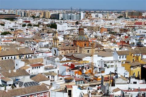 Cityscape of Seville, Spain image   Free stock photo ...