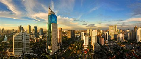 Cityscapes indonesia cities skyline jakarta wallpaper ...