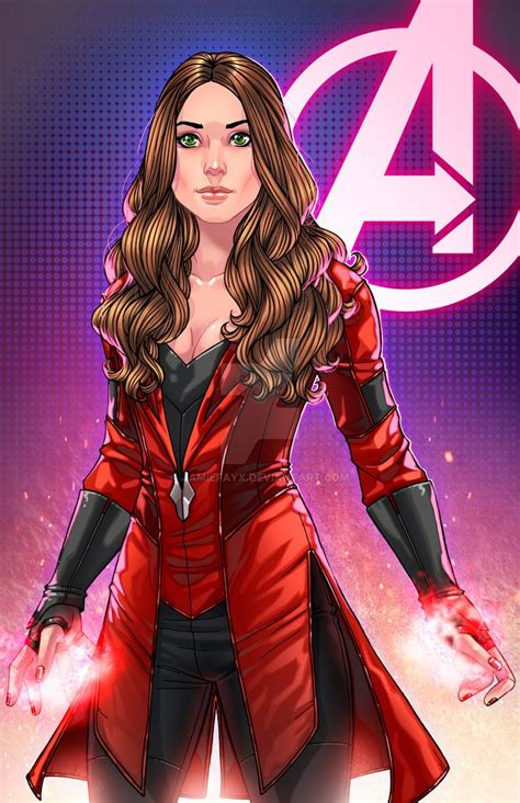 Civil War Scarlet Witch Red Coat | Scarlet, Scarlett o ...