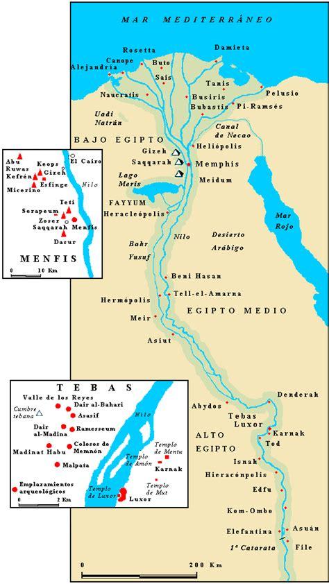 Civilización Egipcia.: Ubicación Geográfica