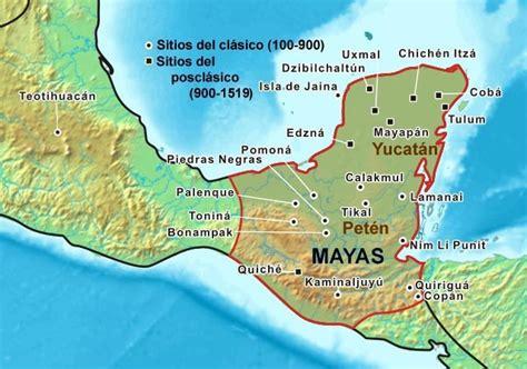 Civilización Maya: *Ubicación Geográfica*
