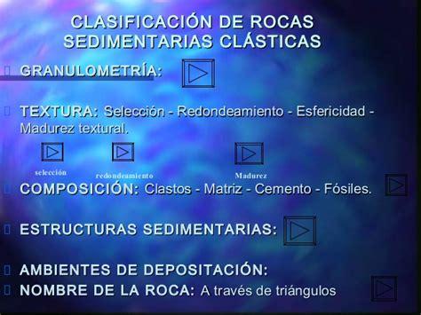 Clase rocas sedimentarias