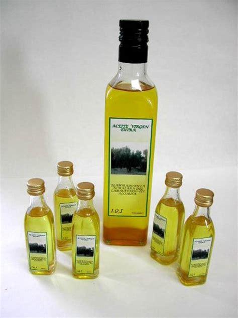 Clases de aceite de oliva.