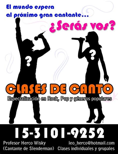 Clases De Canto En Capital Federal   Alumno De Iván ...