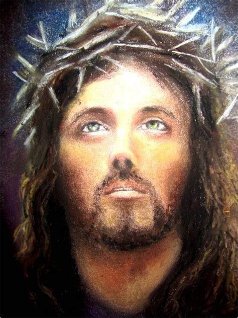 Clases de Dibujo y Pintura Rostro de Jesús Crucificado ...
